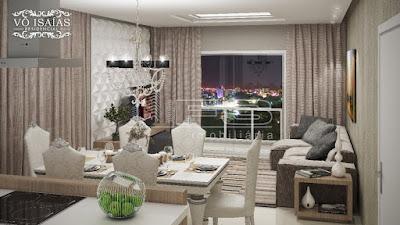VO ISAIAS RESIDENCIAL - Apartamento de 3 Dormitórios em Porto Belo SC