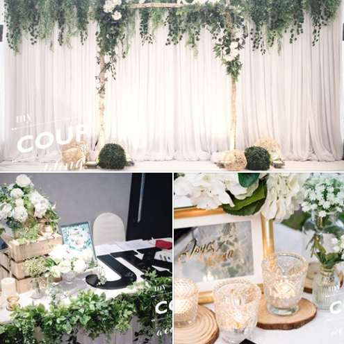 Wedding Decoration - Wooden Arch