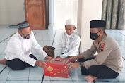 Safari Ramadan, Polsek Kemangkon Serahkan Peralatan Shalat di Masjid