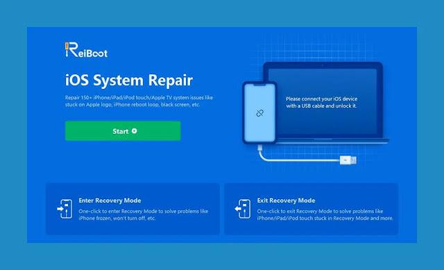 تحميل Tenorshare ReiBoot أقوى برنامج لحل جميع مشاكل الايفون و جميع أجهزة iOS