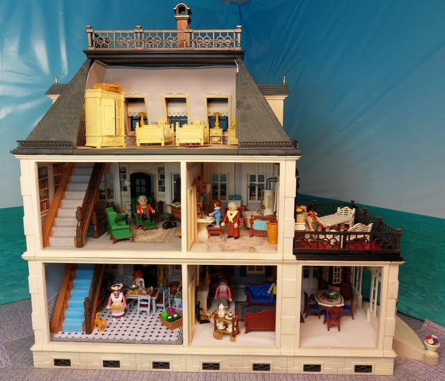 5300 Painted Victorian Mansion | Emma.J's Playmobil