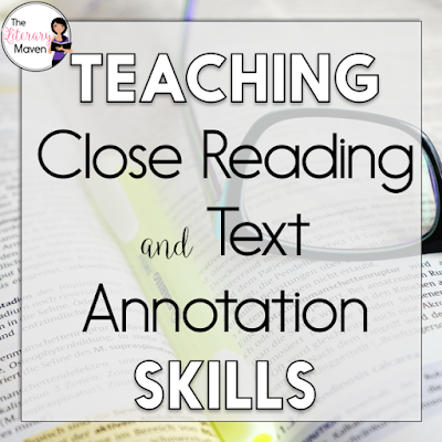 Though close reading may seem like a buzz word, it's not a fancy, newfangled strategy. If your students are rereading a text to gain better understand and deeper meaning, they are doing a close reading. This #2ndaryELA Twitter chat was all about teaching close reading and text annotation. Middle school and high school English Language Arts teachers discussed how they define close reading. Teachers also shared how they select the texts they use for close reading and annotation. Read through the chat for ideas to implement in your own classroom.