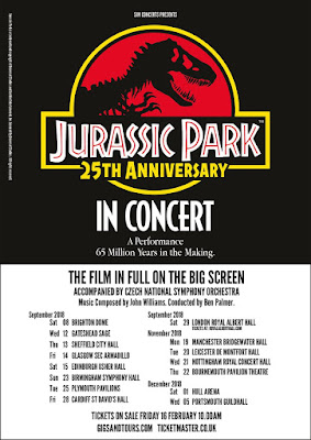jurassic park in concert uk tour