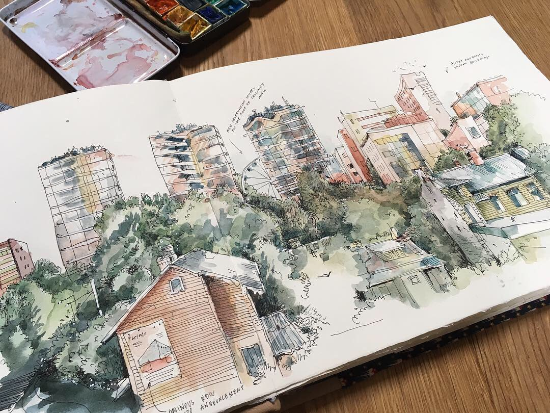 A Sketchbook from the Wilder Side of the Garden Rough Patch