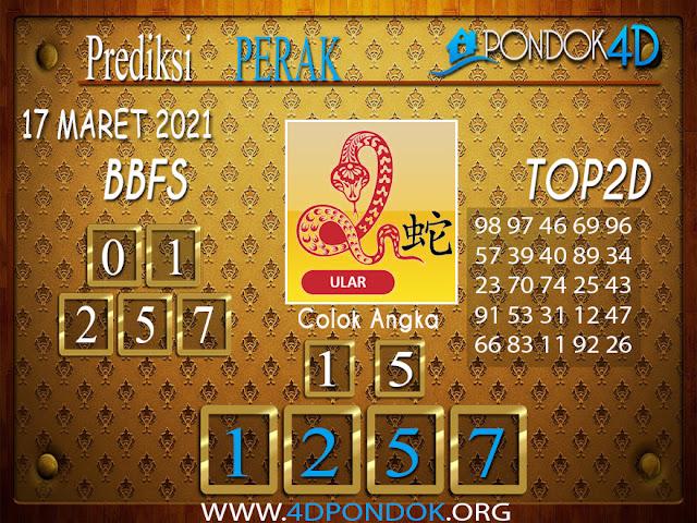 Prediksi Togel PERAK PONDOK4D 17 MARET 2021