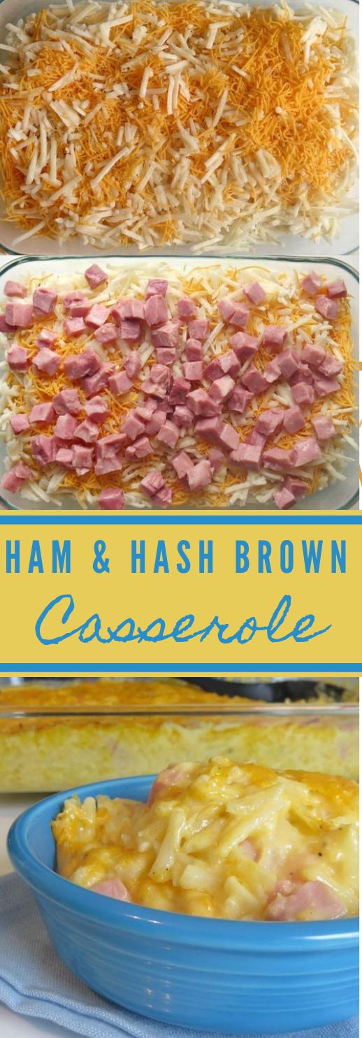 HAM HASH BROWN BREAKFAST CASSEROLE #dinner #breakfast #cauliflower #familyrecipes #healthy