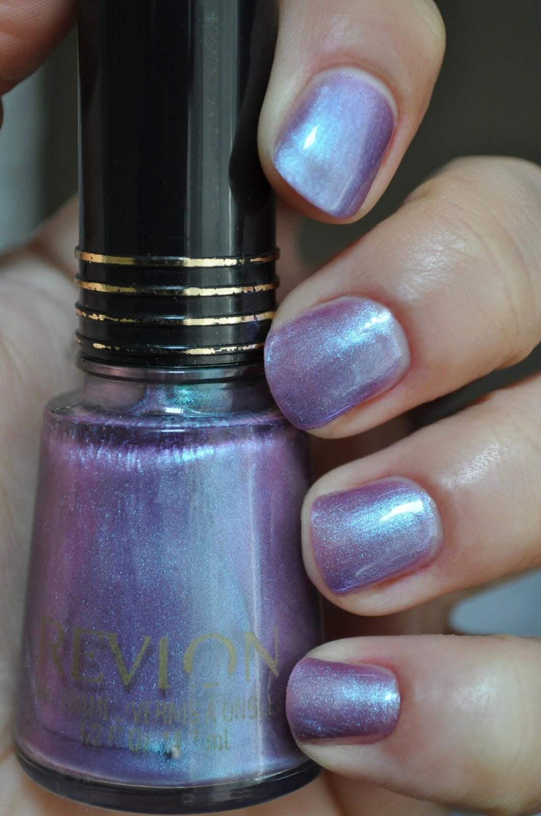 So Lonely in Gorgeous: Laser Lavender, Revlon Nail Enamel!