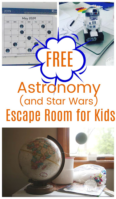 How to Set Up an Astronomy Escape Room with Free Printables