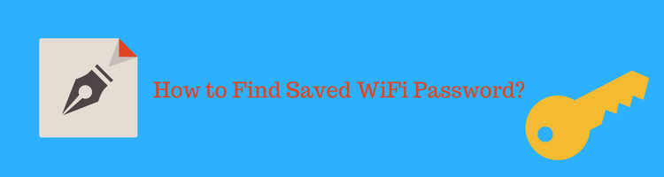 find or view saved wifi password