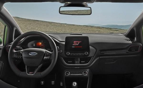 Interior Ford Fiesta ST 2022