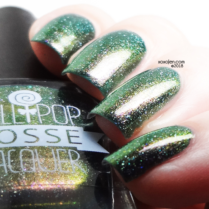 xoxoJen's swatch of Lollipop Posse The Nail Galaxy