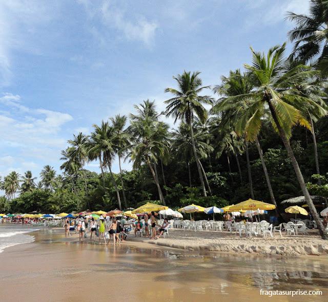 Barracas na Praia do Coqueirinho, Paraíba