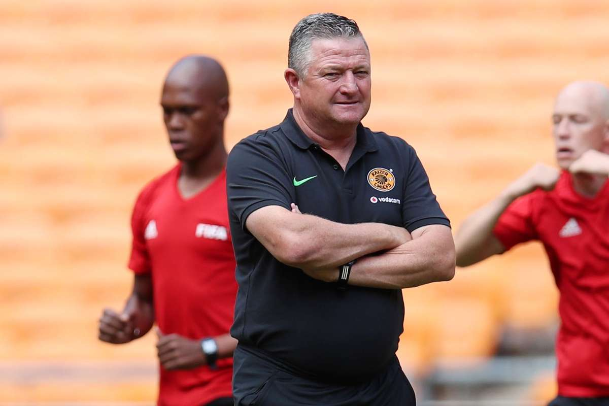 Gavin Hunt will take charge of his first league game as Kaizer Chiefs coach this weekend