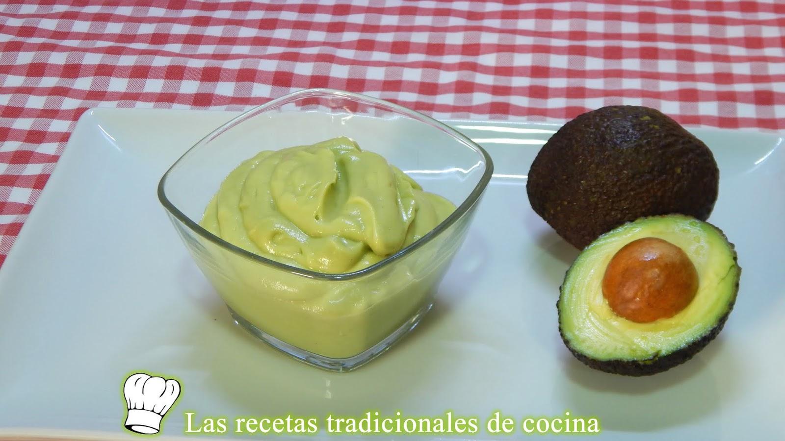 Receta Fácil De Mayonesa De Aguacate Sin Huevo
