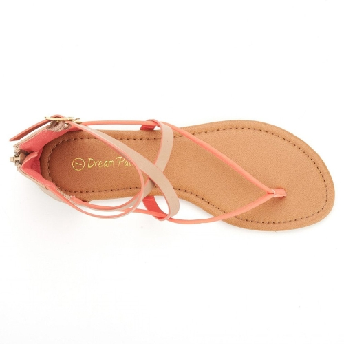 Dream pair string sandals