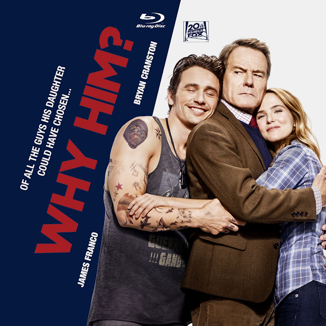 Why Him? Bluray Label