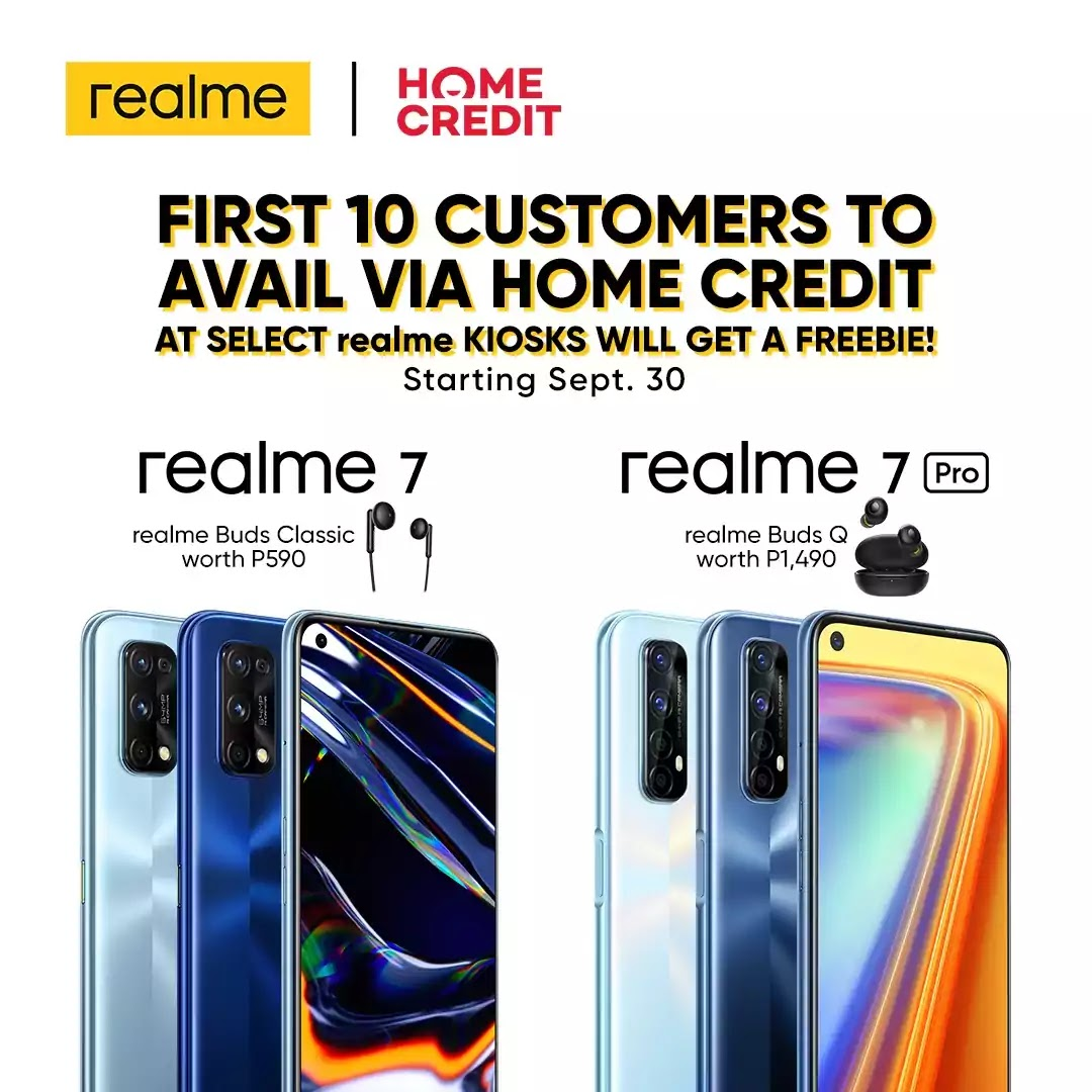 realme 7 series x Home Credit