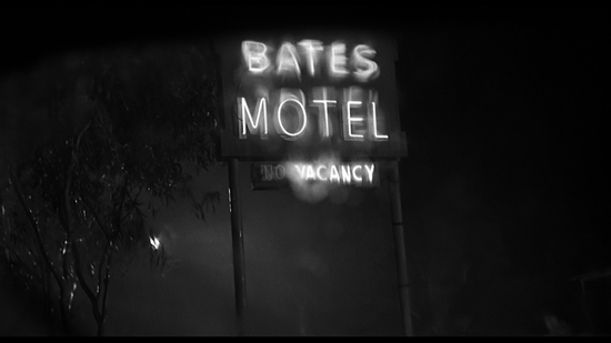 psycho Bates Motel Sign A boy's Best Friend marchmatron.com
