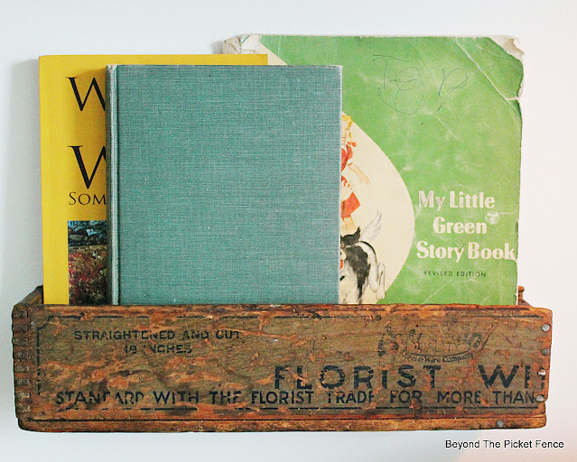 Use an Old Box for a Book Holder