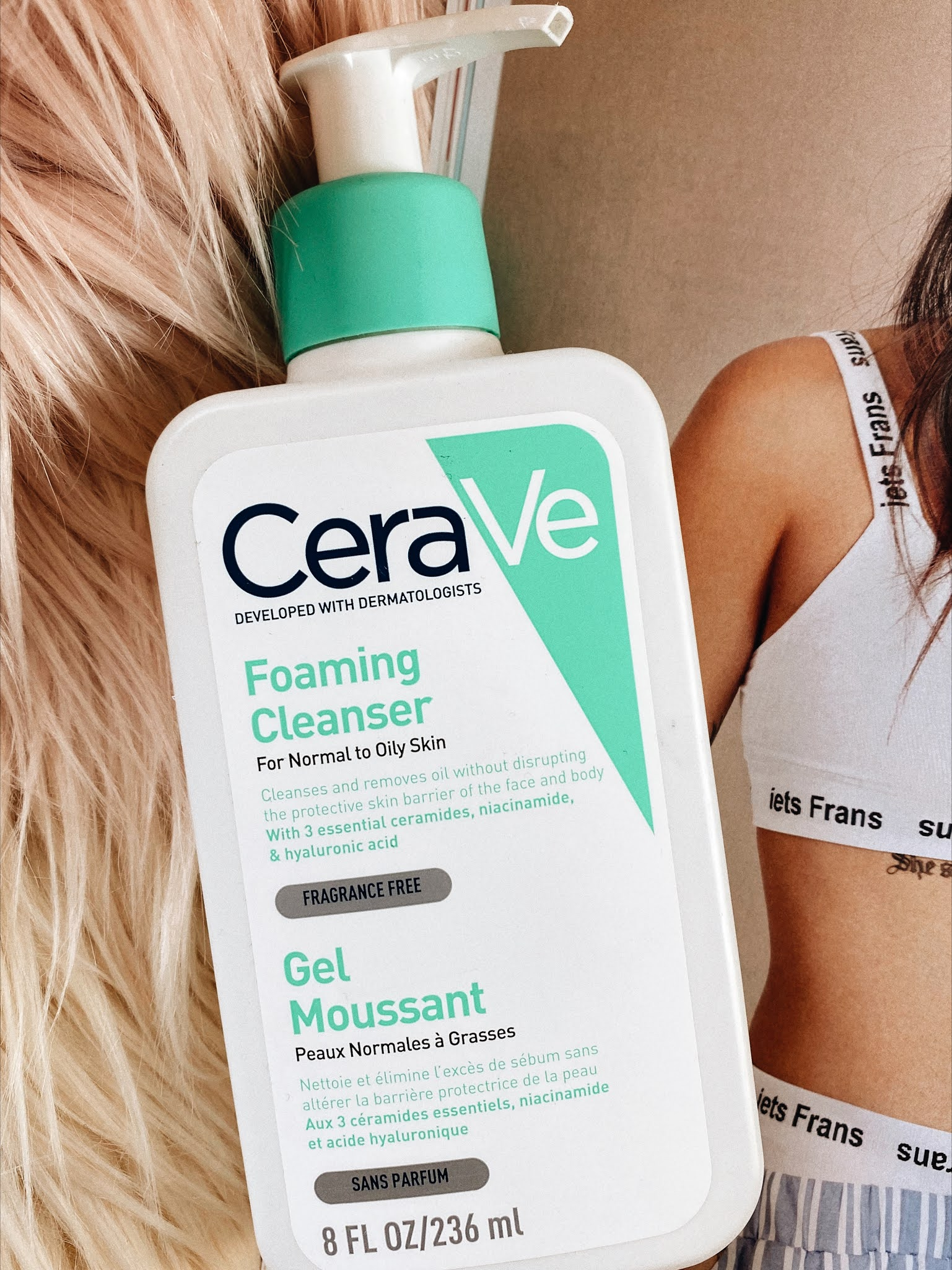 CeraVe foaming face wash cleaner review
