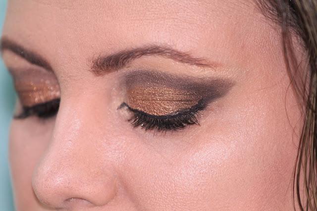 Beautiful Sparkling Eye Makeup