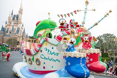 Tokyo Disney desfiles de Natal