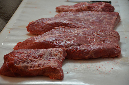 Separated Certified Angus Beef® Brand briskets