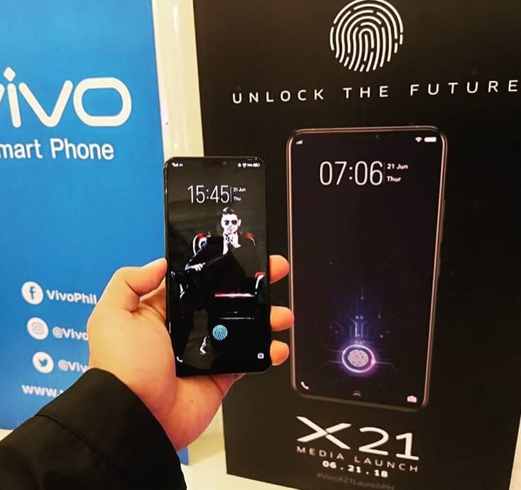 Vivo X21 Launch in PH for Php29,999; In-Display Fingerprint Scanner, SD660, 6GB RAM, 128GB ROM, Dual Rear Cameras