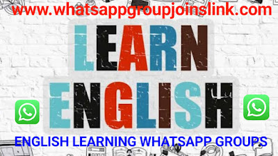 English Learning WhatsApp Group Joins Link