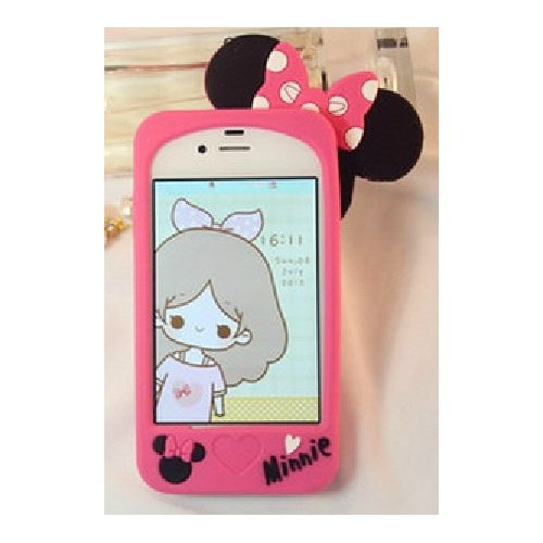 official photos 04fa7 59d19 Smile Tech-iphone 5 Case: NEW DISNEY MINNIE MICKEY'S GIRLFRIEND ...