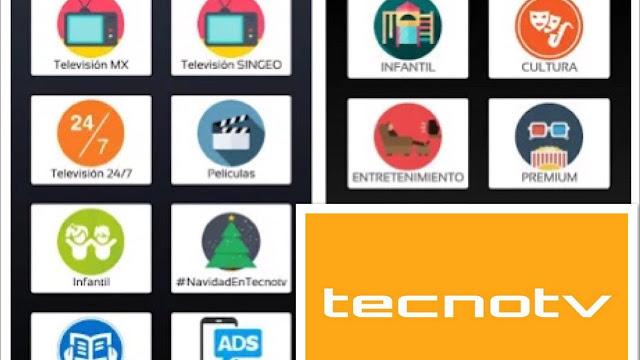 تحميل تطبيق Tecnotv.apk لمشاهدة القنوات الاجنبية و الافلام العالمية على هاتفك الاندرويد