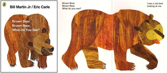 los mejores cuentos y libros infantiles en inglés brown bear, what do you see? eric carle