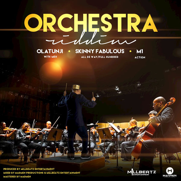 Various Artists - Orchestra Riddim - EP Cover