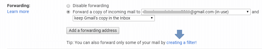 auto-forward specific emails in Gmail
