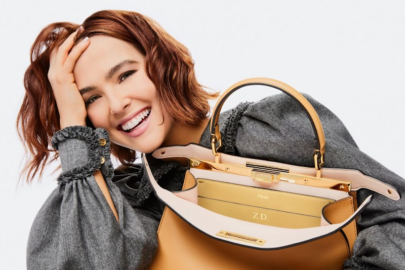 "Zoey Deutch Clicked For Fendi ""Peekaboo ISeeU"" Campaign Photoshoot 2020"