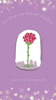 imagem Papel de Parede para celular do pequeno príncipe, papel de parede para celular da rosa do pequeno príncipe