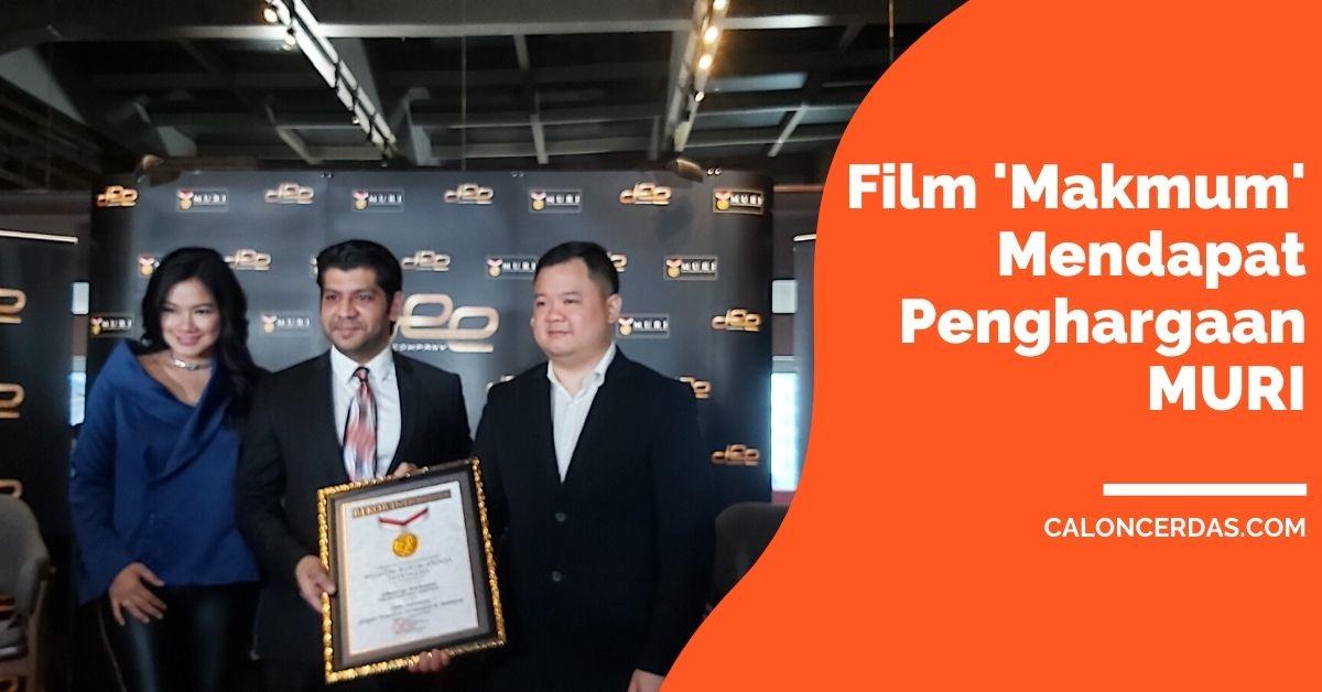 Film 'Makmum' yang Paling Banyak Ditonton di Malaysia, Mendapat Penghargaan MURI