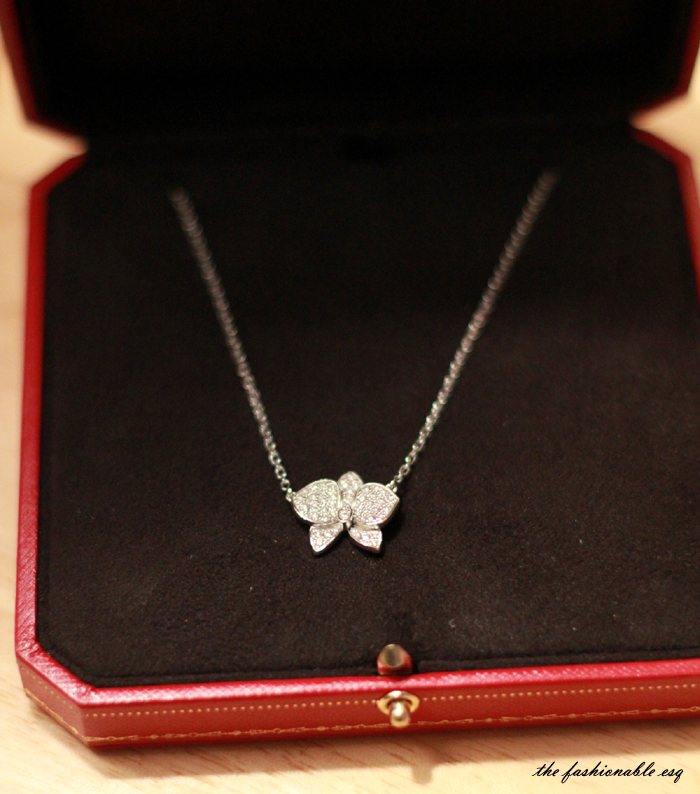 Necklace Cartier Diamond Orchid