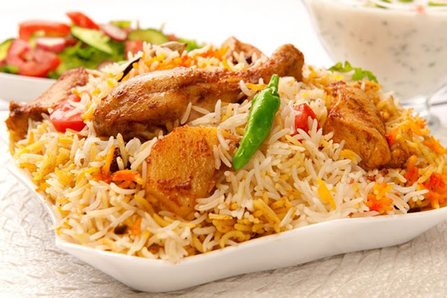 Chicken Biryani is a famous recipe of South Asian countries full of healthy ingredients t Chicken Biryani Recipe and Nutritional Information