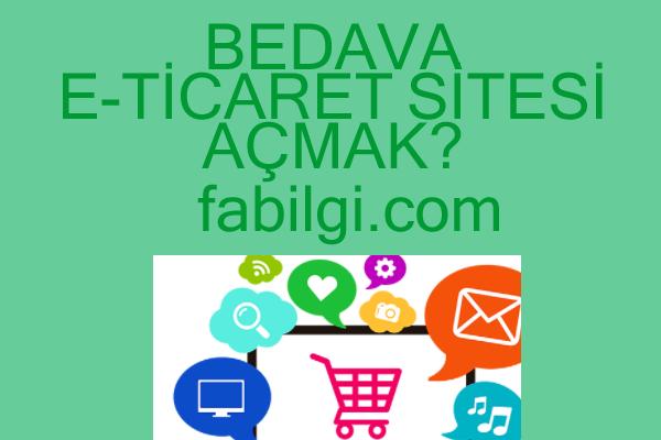 Bedava E-Ticaret Ürün Satma Sitesi Nasıl Açılır? Shopier Kullanım