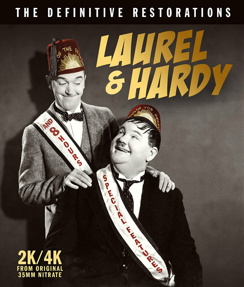 Laurel & Hardy: The Definitive Restorations bluray