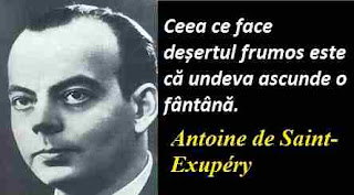 Maxima zilei: 29 iunie - Antoine de Saint-Exupéry