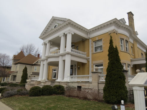 Cartier Mansion, Ludington, Michigan
