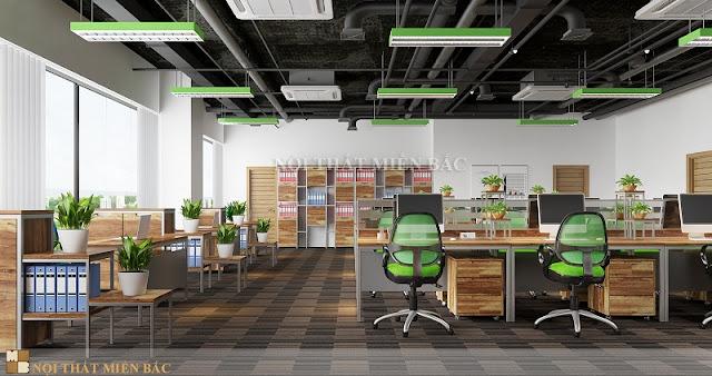 Tầm quan trọng của thiết kế nội thất phòng làm việc chuyên nghiệp - H2