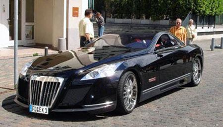 cars gallery and information: maybach exelero