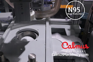 Cup Forming and Cutting - Fully-automatic N95/FFP2 Cup Respirator Mask Production Line