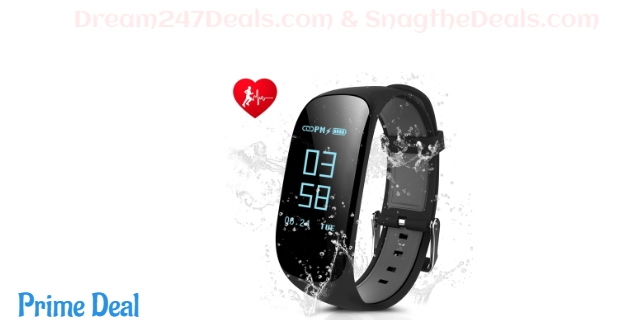 Fitness Tracker,laucin Z17 Activity Wristbands 60% OFF