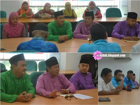 Sesi perbincangan dengan Tan Sri Khalid Ibrahim (TSKI)