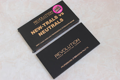 Makeup Revolution New-Trals vs Neutrals Palette review