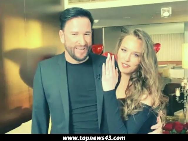Michael Wendler Makes Laura Müller A Romantic Proposal